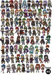 FE Chibi Collection part 1 by Card-Queen