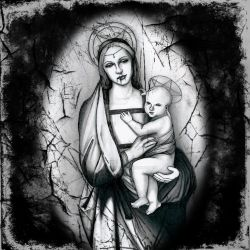 Madonna and Child by ParanoiiidA