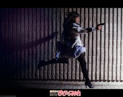 Homura - The girl who leapt through time by Achico-Xion