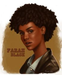 Farah Black by Caot1ca