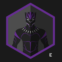 Black Panther Character Icon by thelivingethan