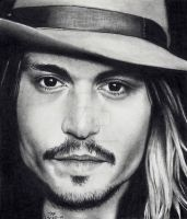 Johnny Depp - as Self by Doctor-Pencil