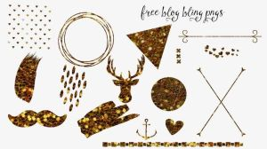 Blog Bling Png Elements by toxiclolley88