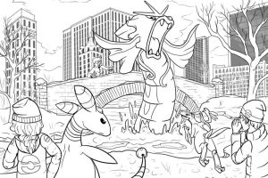 Pokemon Perspective Lines by Pepper-Head