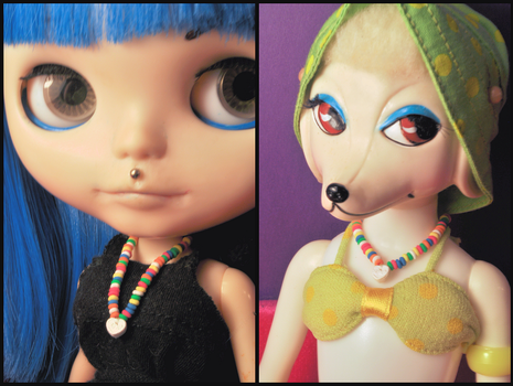 1:6 Scale Candy Necklace by rottingteeth
