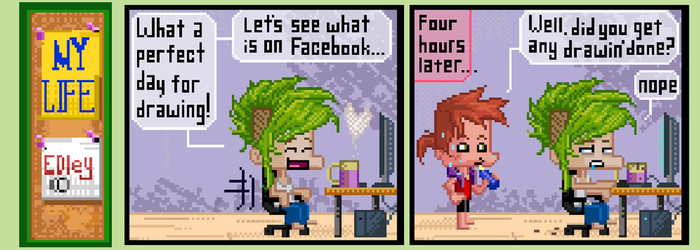 I should to avoid the social media by EdsArtFactory