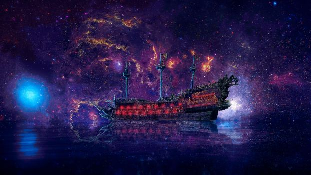 Voyage of the star seeker by Gearsofcreativity