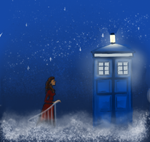 Doctor Who - Clara in the Stars by MissCaltra