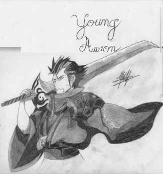 Young Auron by DeviantMed