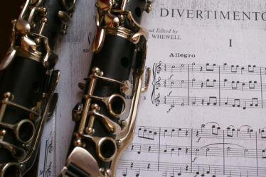 Clarinet and Divertemento by Bildermacher
