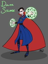 Stephen Strange by WaterElement33
