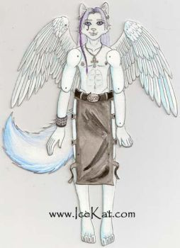 IceKat Jointed Paper Doll by The-IceKat