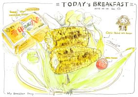 #daily057 Today's Breakfast (9) by tinashan