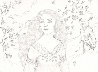 Luthien Tinuviel 2 by Maitia