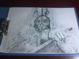 Corvo Attano finished by AmeDvleec