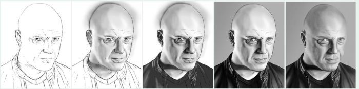Chiklis WIPs by BikerScout