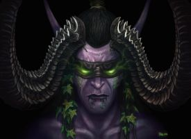 Illidan Stormrage - Warcraft by JoeDomani