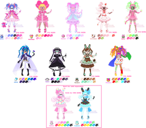 Splatoon X Animal Crossing Adopts PAYPAL ONLY by Ghiraham-Sandwich