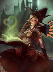Witch Mercy by TheMaestroNoob