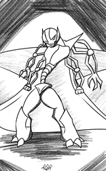 General Grievous Sketch by Thesimpleartist4