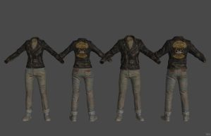 'Fallout 4' Greaser Jacket XPS ONLY!!! by lezisell
