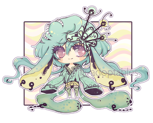 [ CLOSED ] Adoptable RAFFLE 01 - Kemelith 01 by Piffi-sisters