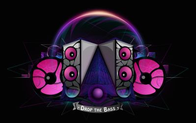 Drop the Bass by MitSuGayaGFX