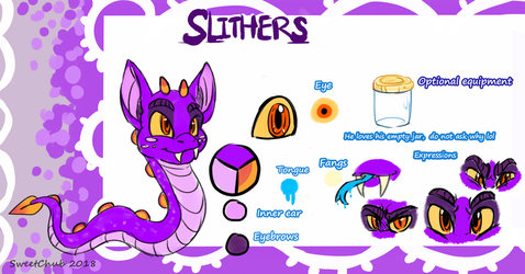 Slithers Reference Sheet by SweetChub