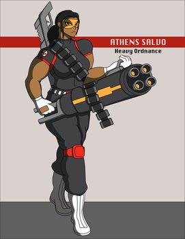 B.A.D. Agent Athens Salvo by DrasticAction