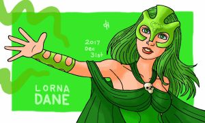 Marvel, Lorna Dane by Cesar-Hernandez