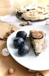 Spicy cheesecake with plums by thewhoayeah