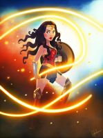 Wonder Woman by DylanBonner