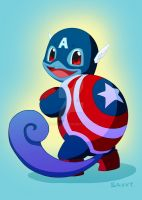 Captain Amerisquirt by RipZythm