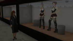 New Mannequins on Display by CaptianHarlock