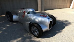 1935 Auto Union record car Type B Lucca by melkorius