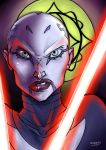 Asajj Ventress by VoidmageHusher