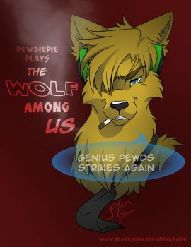 A Wolf Among Us Pewdiepie Fanart [Version 2] by Silversoma