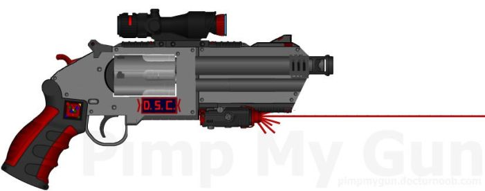 D.I.I.-D.S.C. HVR-2000 'Dominator' Heavy Revolver by Lord-DracoDraconis