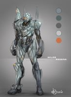 Concept Art - The Armor Of God by AenTheArtist