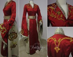 Cersei Lannister Red Dress by Firefly-Path