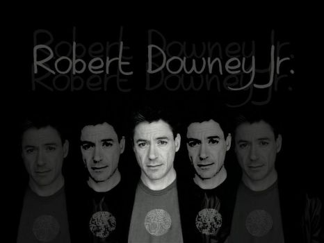 Clean and Simple - RDJ by l3l0ody0ne