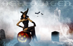SEXY 2017 HALLOWEEN WITCH by CSuk-1T