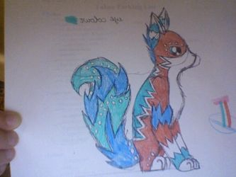 Fox prototype by NobodiesDragonGirl