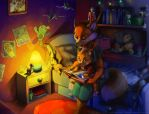 Bed time by BlackBy