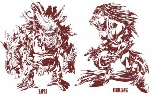 Filipino Mythical Creatures by CaptainLuckypants
