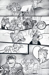 Dragon Age II- commission comics by ymymy