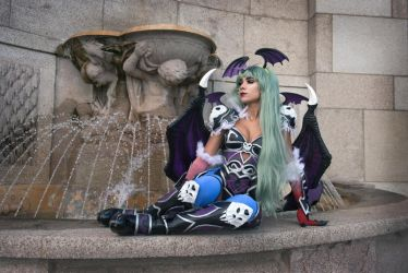 Armored Morrigan by Becs-Cos-Wonderland