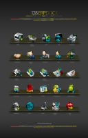 TSTech corp. ERP Dock Icons by antialiasfactory