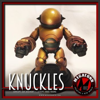 Knuckles by johnjackman