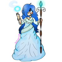Ice Mage by Bonnieart04